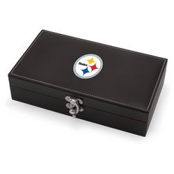 Pittsburgh Steelers Syrah Wine Set by Picnic Time