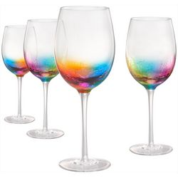 Artland 4-pc. Neon Goblet Set