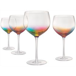 Artland 4-pc. Neon Gin Glass Set