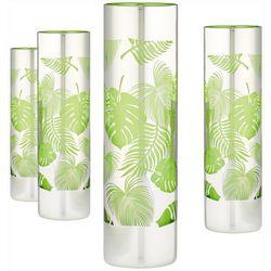 Artland 4-pc. Tropical Leaves Cooler Glass Set