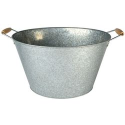 Artland Oasis Galvanized Steel Oval Party Tub