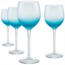 Artland Frost Shadow 4-pc. Wine Goblet Set