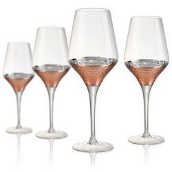 Artland Coppertino Hammered 4-pc. Wine Goblet Set