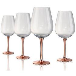 Artland Coppertino 4-pc. Wine Goblet Set
