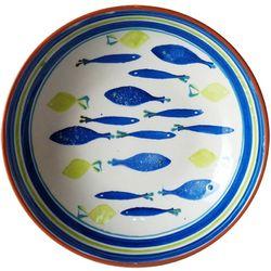 Euro Ceramica Pescador Large Salad Bowl