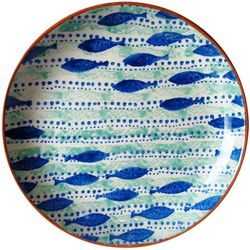 Euro Ceramica Pescador Round Platter
