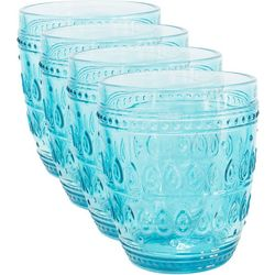 Euro Ceramica Fez 4-pc. Double Old Fashioned Set