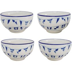 Euro Ceramica Ahoy 4-pc. Cereal Bowl Set