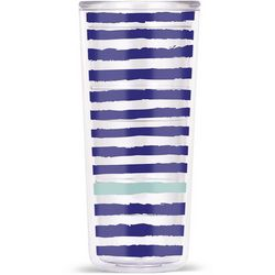 Thermoserv 18 oz. 4-pc. Stripe Tumbler Set