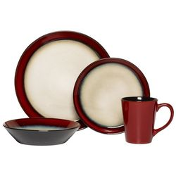 Pfaltzgraff Everyday Aria Red 16-pc. Set