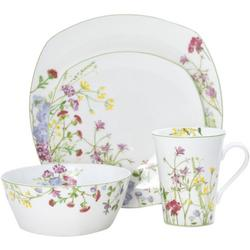 Wildflower Garden Bone China 16-pc. Dinnerware Set