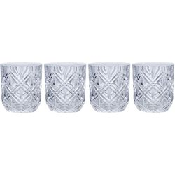 Mikasa Claremont 10oz Double Old Fashioned 4-pc. Glass Set