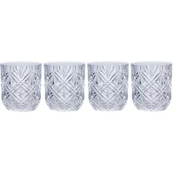 Claremont 10oz Double Old Fashioned 4-pc. Glass Set