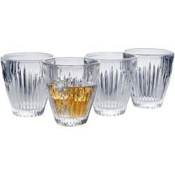 Parkside 9.4oz Double Old Fashioned 4-pc. Glass Set