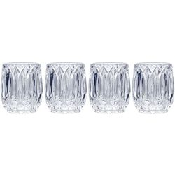 Mikasa Saxon 10oz Double Old Fashioned 4-pc. Glass Set
