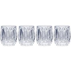 Saxon 10oz Double Old Fashioned 4-pc. Glass Set