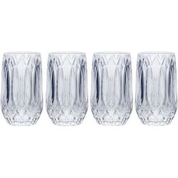 Mikasa Saxon 13oz. Highball 4pc. Glass Set