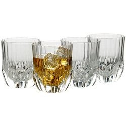 Mikasa Opus 10oz Double Old Fashioned 4-pc. Glass Set