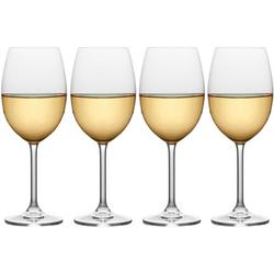Julie 4-pc. White Wine Glass Set