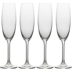 Mikasa Julie 4-pc. Flute Glass Set