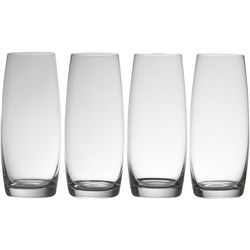 Mikasa Julie 4-pc. Stemless Flute Glass Set