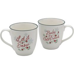 Pfaltzgraff Winterberry 2-pc. Cold Outside Mug Set