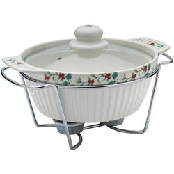 Pfaltzgraff Winterberry Soup Tureen With Wire Rack