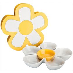 Daisy Chips and Dip Bowl