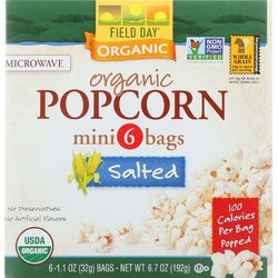 Field Day 6-pk. 100 Calories Salted Popcorn