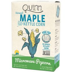 Quinn Popcorn 6-pk. Vermont Maple & Sea Salt Popcorn