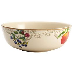 Bonjour 9'' Orchard Harvest Serving Bowl
