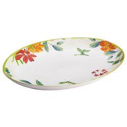 BonJour 9.75'' x 13'' Al Fresco Oval Platter
