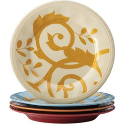 Rachael Ray Multi-color 4-pc. Salad Plate Set