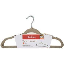 Sunbeam 10-pk. Velvet Hanger Set