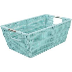 Home Basics Small Rectangular Woven Basket