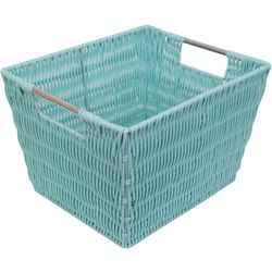 Home Basics Medium Rectangular Woven Basket