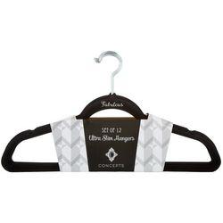 Concepts In Time 12-pk. Fabulous Ultra Slim Velvet Hangers