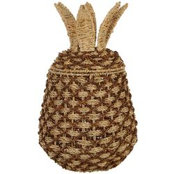 Dennis East Woven Pineapple Basket