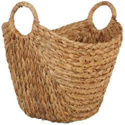 Elements Large Natural Water Hyacinth Basket