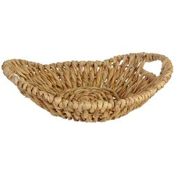 Uma Ent Woven Water Hyacinth Tray Basket