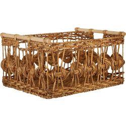 Uma Ent Woven Rectangular Basket