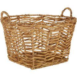 Uma Ent Woven Round Basket