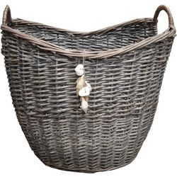 Fancy That Woven Willow Decorative Basket