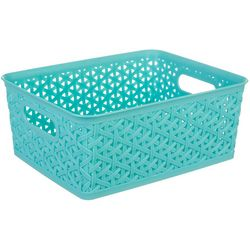 Whitmor Small Resin Tote Basket