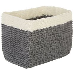 Interdesign Rectangular Knit Bin Storage Basket