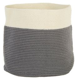 Interdesign Round Knit Bin Storage Basket