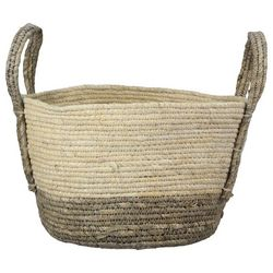 Young's Natural Ivory Woven Basket