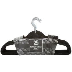 Signature Home 25-pk. Non-Slip Velvet Hangers