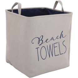 Azzure XXL Beach Towel Print Soft Storage Bin