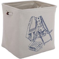 Azzure Extra Large Beach Chair Print Soft Storage Bin